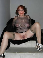 Glamour mature whores posing totally naked