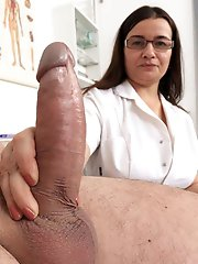 Ugly Nurses jerking fat cocks