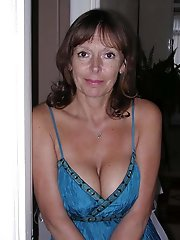 Housewife with ideal breasts