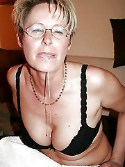 Fiery mature cutie get undressed