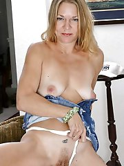 Mature ladies posing undressed