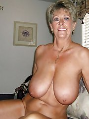 Sensual old cutie getting naked