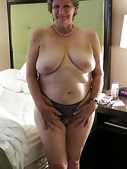 Explosive mature MILFs playing with their jugs