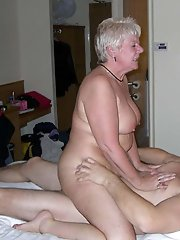 Prurient older women baring it all on pictures